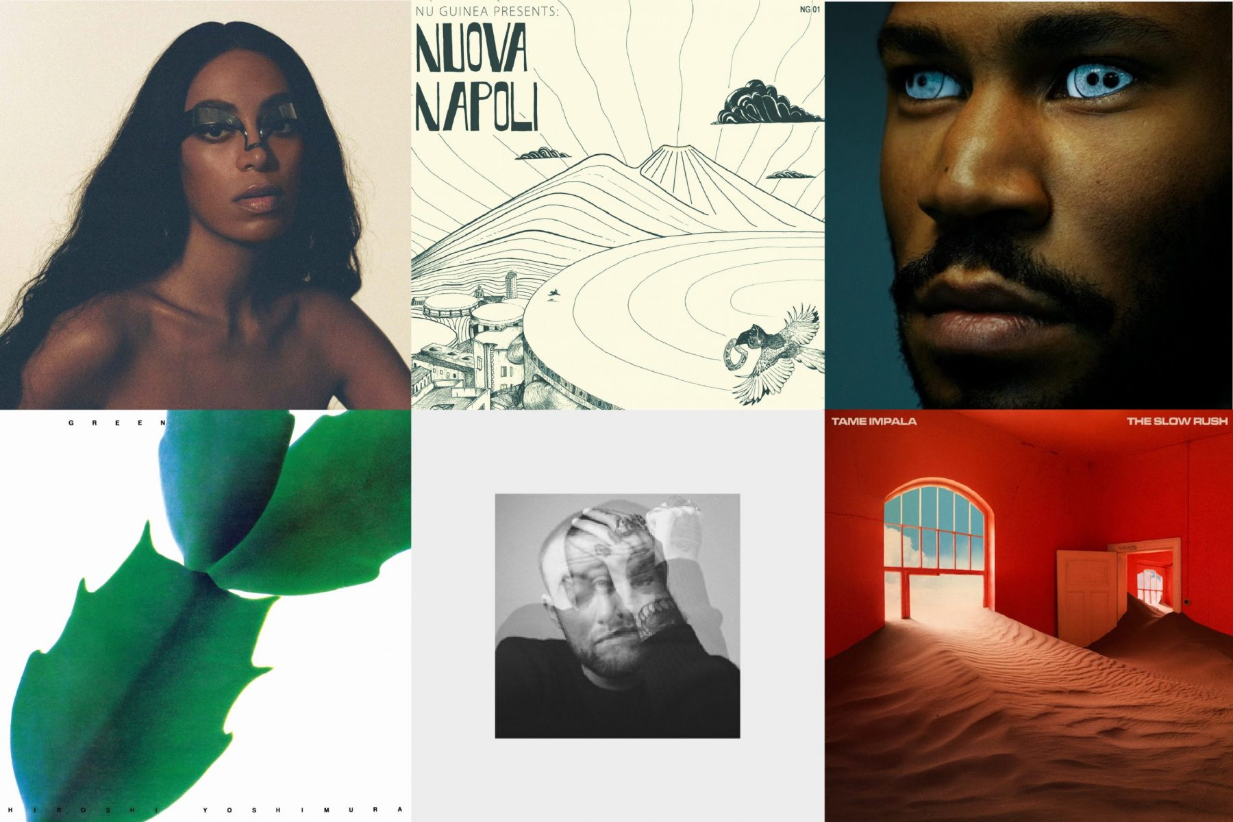 33 Recommends: top 10 albums (from the last 12 months)